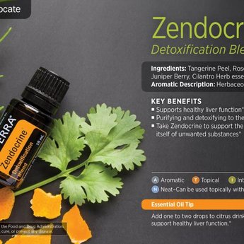 doTERRA Essential Oils Zendocrine Detoxification blend Essential Oil