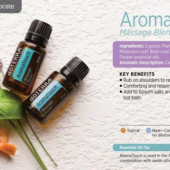 doTERRA Essential Oils AromaTouch Essentiële Olie - Massage Samenstelling 15 ml.