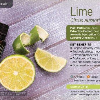 doTERRA Limoen Essentiële Olie 15 ml.