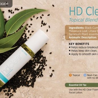 doTERRA Essential Oils HD Clear Topical blend 10 ml. roller