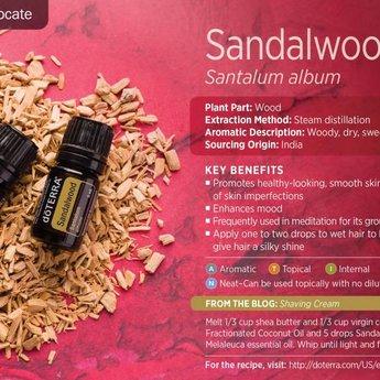 doTERRA Sandelhout 5 ml.
