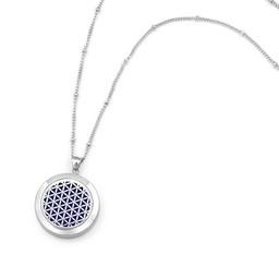 AromaLove Levensbloem aromaketting Zilver