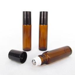 Essential Oil Supplies Rollerflesje amber 10 ml.