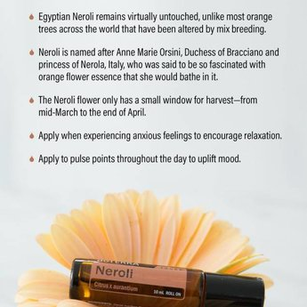 doTERRA Essential Oils Neroli Touch roller 10 ml.