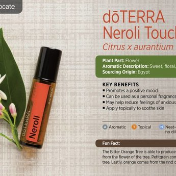 doTERRA Neroli Touch roller 10 ml.