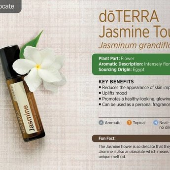 doTERRA Essential Oils Jasmijn Touch roller 10 ml.