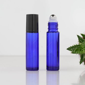 Essential Oil Supplies Rollerflesje blauw 10 ml.