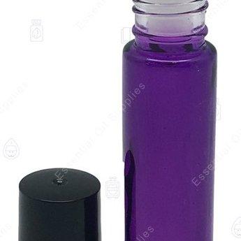 Essential Oil Supplies Rollerflesje paars 10 ml.