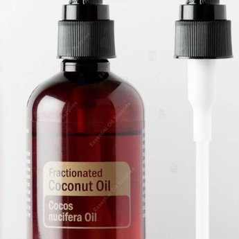 Essential Oil Supplies Pump top for Fractionated Coconut Oil
