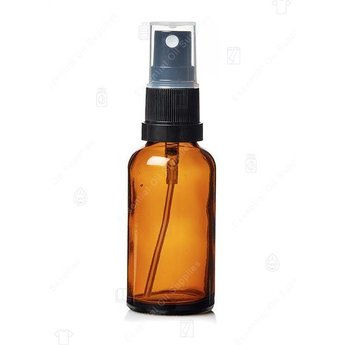Essential Oil Supplies 30 ml. Amber Glass Bottle with Spray Head