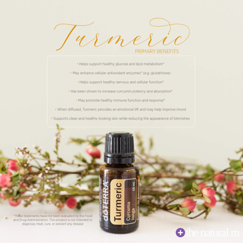 doTERRA Turmeric Essential Oil 15 ml.