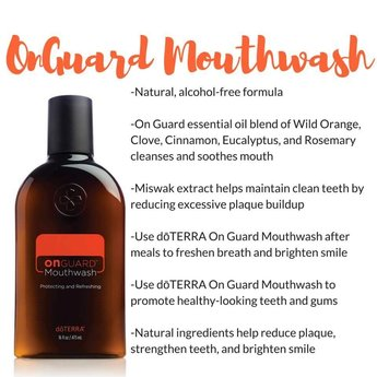 doTERRA Essential Oils On Guard Mondwater 473 ml.