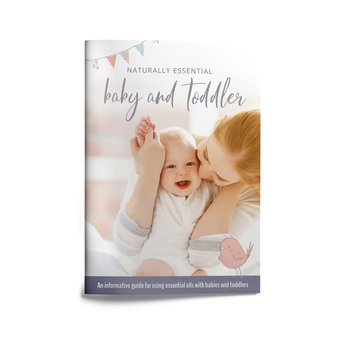 Essential Oil Supplies Natural Essential Baby & Toddler booklet