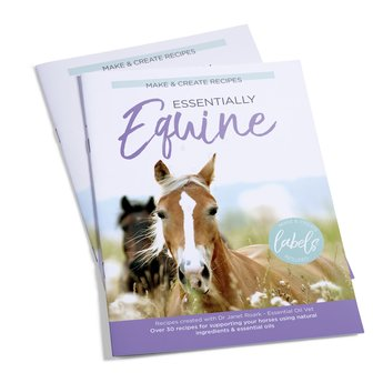 Essential Oil Supplies Essentially Equine: Make & Create Recipe Book
