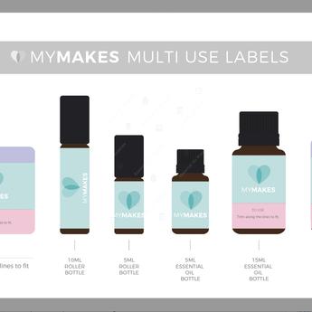 Essential Oil Supplies MyMakes: Everyday sprays for children DIY-set