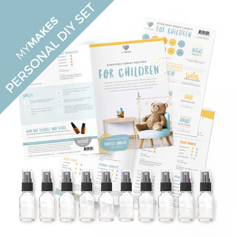 Essential Oil Supplies MyMakes: Everyday sprays for children DIY-kit