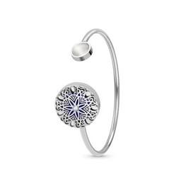 AromaLove Twisted Flowerburst armband (goud, rosegoud, zilver)