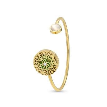 AromaLove Twisted Flowerburst aroma bracelet