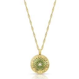 AromaLove Flowerburst aromadiffuser locket necklace (rose gold) - Copy