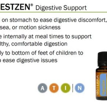 doTERRA Essential Oils Zengest Essentiële Olie - Spijsverteringssamenstelling 15 ml.