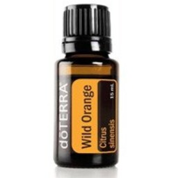 doTERRA Essential Oils Wild Orange Essentiële Olie 5 ml. probeerflesje