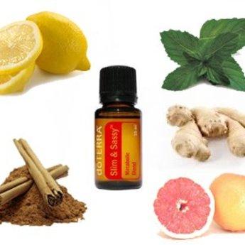 doTERRA Essential Oils Slim & Sassy Essential Oil blend - Metabolic Blend 15 ml.