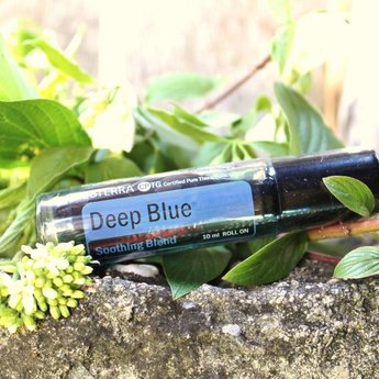 doTERRA Essential Oils Deep Blue Roll On Essential Oil - Soothing Blend