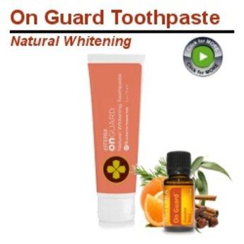 doTERRA Essential Oils On Guard Whitening Toothpaste doTERRA
