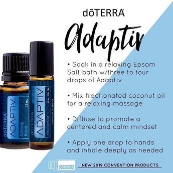doTERRA Adaptiv Calming blend 10 ml. roller