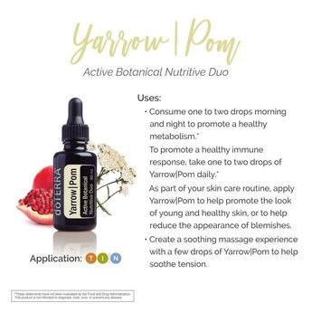 doTERRA Yarrow|POM essential oil 30 ml.