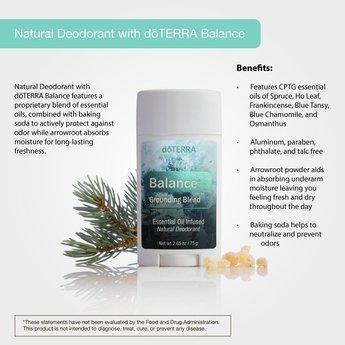 doTERRA Essential Oils Balance Deodorant