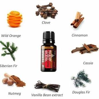 doTERRA Essential Oils Holiday Joy essentiële olie samenstelling 15 ml.