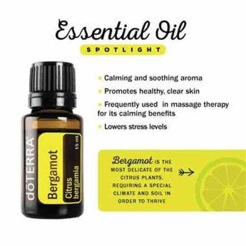 doTERRA Essential Oils Bergamot essentiële olie - enkelvoudige olie