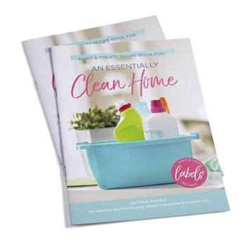 Essential Oil Supplies An Essentially Clean Home booklet