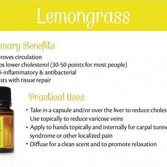 doTERRA Citroengras Etherische Olie (Lemongrass)
