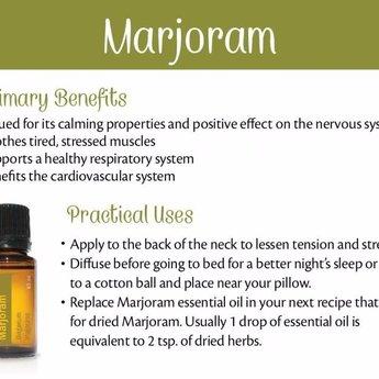 doTERRA Essential Oils Marjoram Essential Oil