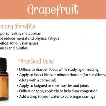 doTERRA Essential Oils Grapefruit Essentiële Olie 15 ml.
