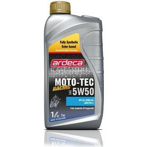 Ardeca Lubricants Moto-Tec 5W50 Racing synthetische esterolie 5L