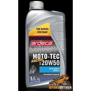 Ardeca Lubricants Moto Tec 20W50 Racing Ester 1L