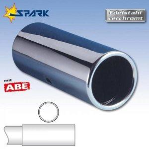 Uitlaatsierstuk Speedline diameter 80mm