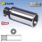 Spark Exhaust Technology Uitlaatsierstuk Sportline diameter 90mm