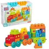 ABRICK Mega Bloks Abc Train
