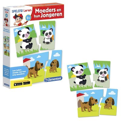 Clementoni Educational Game Mother+young