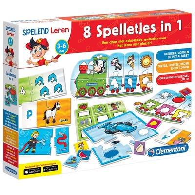 Clementoni Educational 8 Games In 1
