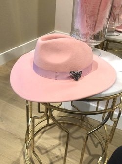 Pretty in Pink Hat