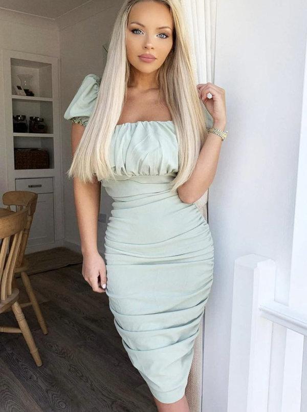 Classy in Mint Dress