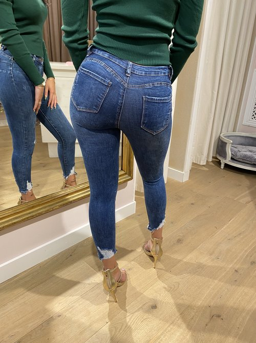 Push Up Jeans Ripped