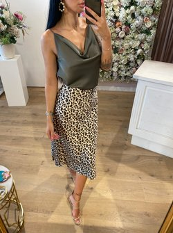 Panther Skirt beige