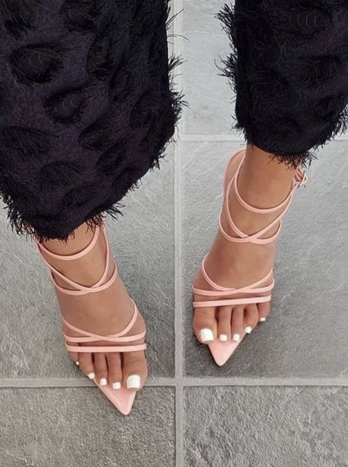 Perfect Point Heels Nude
