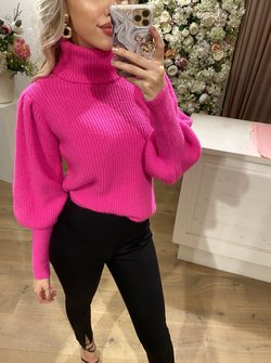 Col Sweater Pink
